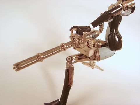 ミニガンっぽい3銃身ガトリング