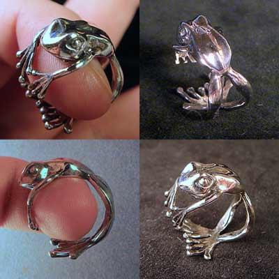 立体として面白いのと、指輪としていいデザインって別なんですよね。両立させるのはなかなかに難しい。